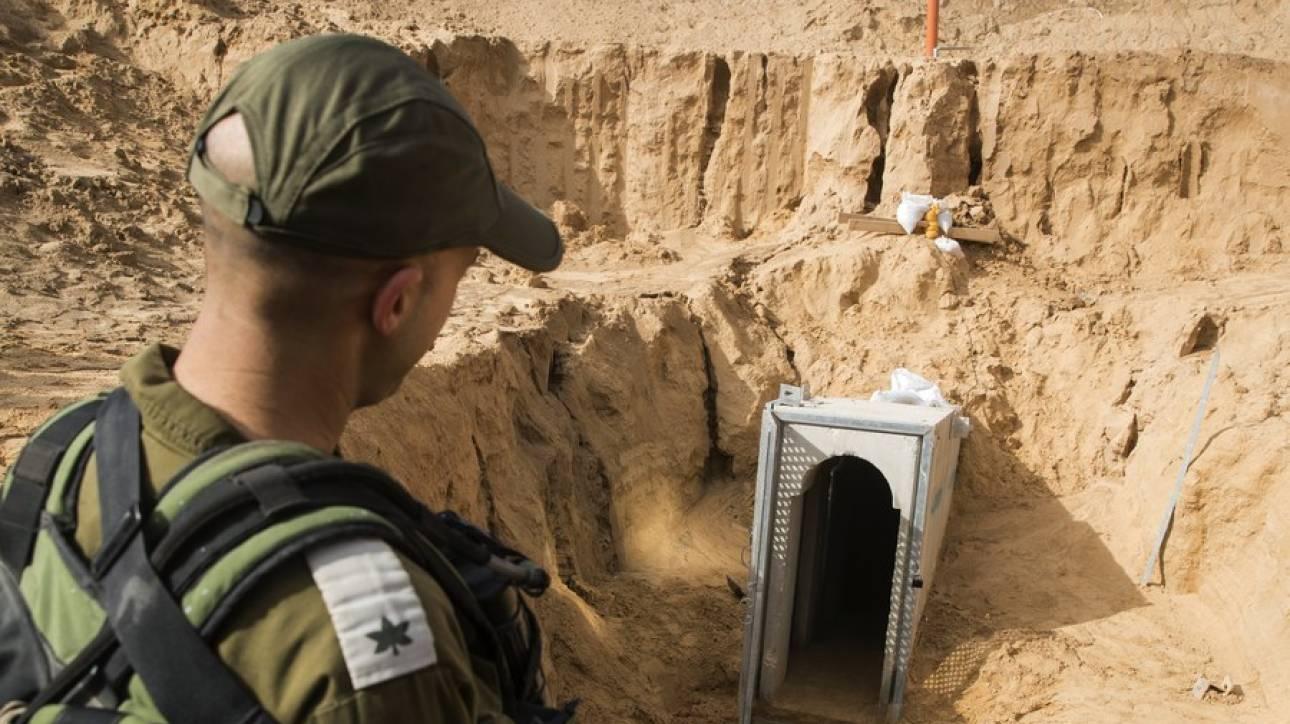 Καταστράφηκε η μεγαλύτερη σήραγγα που ένωνε τη Λωρίδα της Γάζας με το Ισραήλ