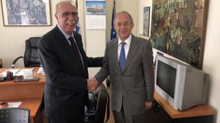 Βίτσας - Πρέσβης Τουρκίας: Συζήτησαν για τρόπους ενίσχυσης της ελληνοτουρκικής συνεργασίας