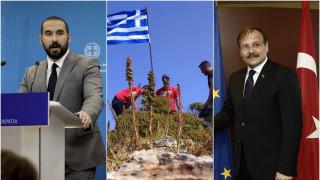 Ανεβάζει τους τόνους η Άγκυρα, «όχι» στην παγίδα των προκλήσεων απαντά η Αθήνα
