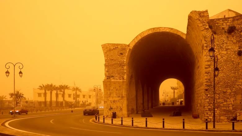 Πόσο θα μείνει η αφρικανική σκόνη στην Κρήτη