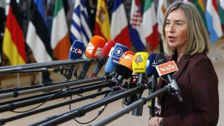 Μογκερίνι: Η Δαμασκός πρέπει να έρθει στο τραπέζι των διαπραγματεύσεων