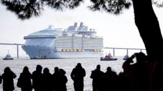 Symphony of the Seas: Παρθενικό ταξίδι στη Μεσόγειο για το μεγαλύτερο κρουαζιερόπλοιο στον κόσμο