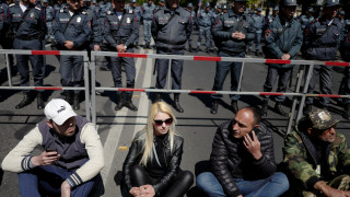 Στους δρόμους οι Αρμένιοι κατά της εκλογής του νέου πρωθυπουργού