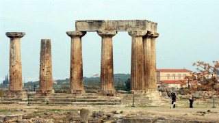 Τρισδιάστατη ψηφιακή απεικόνιση της Αρχαίας Κορίνθου