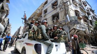 Βομβαρδισμοί του συριακού στρατού κατά προπυργίου του ISIS