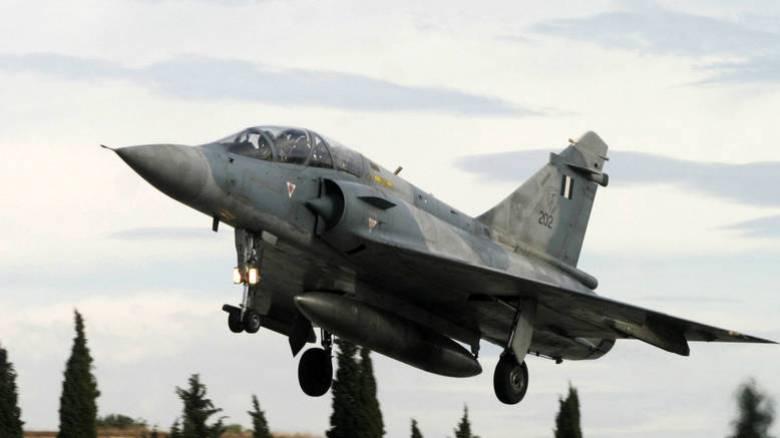 Ξεκινά η ανέλκυση του μοιραίου Mirage 2000-5