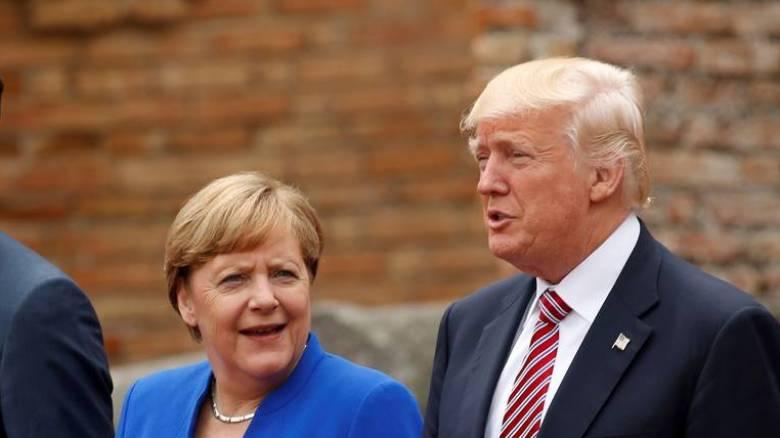 Συνάντηση Τραμπ-Μέρκελ στο Λευκό Οίκο στις 27 Απριλίου