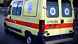Ηράκλειο: Τροχαίο με ασθενοφόρο που μετέφερε δύο νεογνά