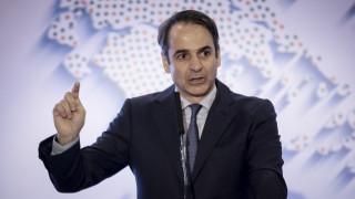 Μητσοτάκης στο συνέδριο της ΚΕΔΕ: Οι εκλογές δεν θα γίνουν με απλή αναλογική
