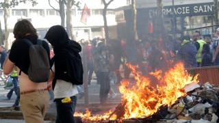 Συγκρούσεις στο Παρίσι μεταξύ αστυνομίας - διαδηλωτών