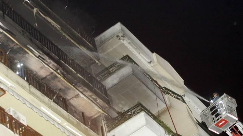 Αττική: Στις φλόγες διαμέρισμα στην Κυψέλη - Απεγκλωβίστηκε μια 73χρονη
