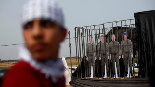 Οι Ισραηλινοί προειδοποιούν τους Παλαιστίνιους να μην πλησιάζουν τον μεθοριακό φράχτη