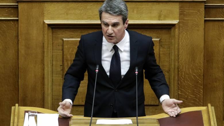 Επίθεση Λοβέρδου στην κυβέρνηση για τις γαλλικές φρεγάτες