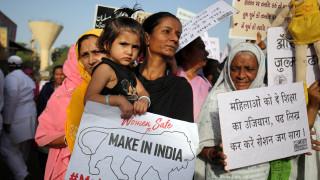 Η Ινδία εξετάζει την επιβολή θανατικής ποινής για τους βιαστές παιδιών