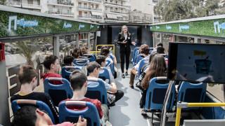 Μαθήματα στο… λεωφορείο ανακύκλωσης (pics)