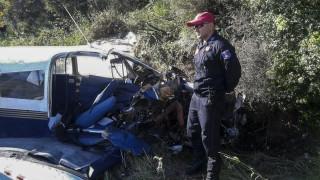 Νεκροί και οι δύο επιβαίνοντες του μονοκινητήριου που κατέπεσε στη Φωκίδα (pics&vid)