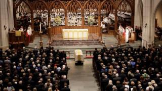 ΗΠΑ: Τελευταίο αντίο στην πρώην πρώτη κυρία Μπάρμπαρα Μπους