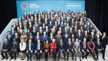 Ενημέρωση της Επιτροπής Κυβερνητών του ΔΝΤ για το ολιστικό σχέδιο της κυβέρνησης