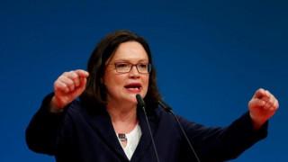Γερμανία: Η Αντρέα Νάλες εξελέγη νέα πρόεδρος του SPD