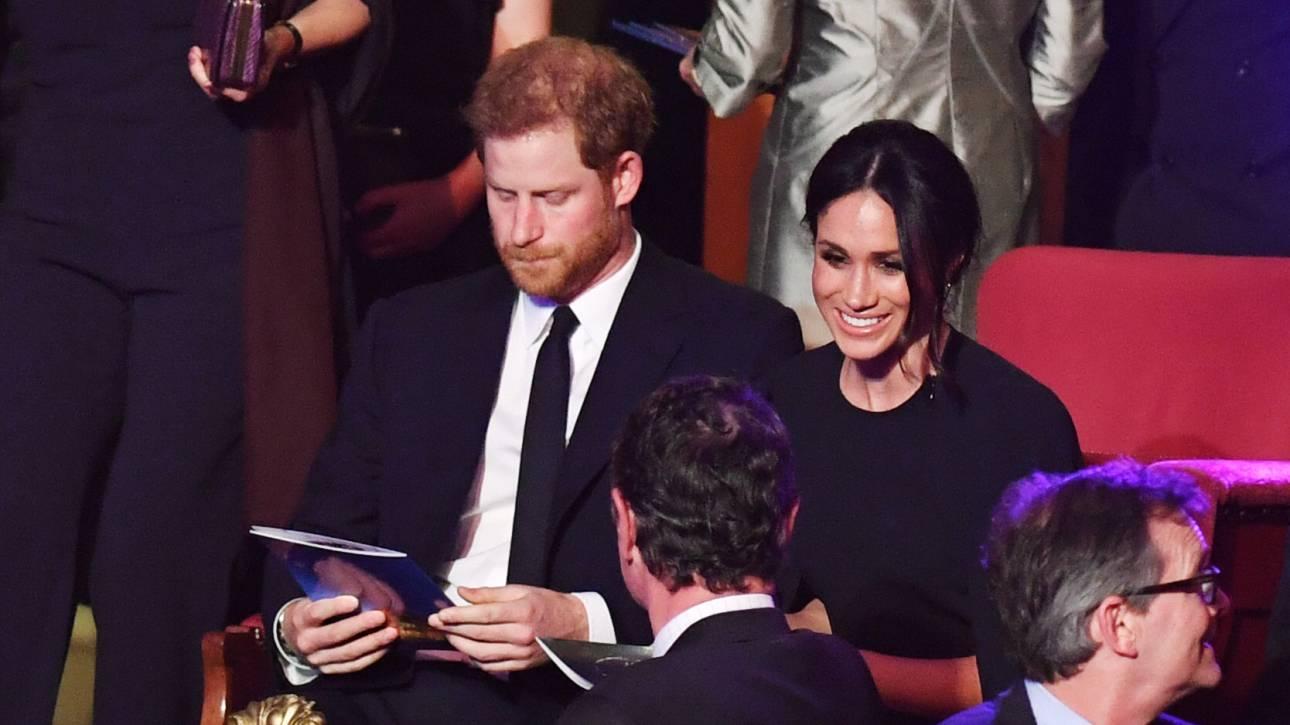 Μέγκαν Μαρκλ: Εντυπωσιακή εμφάνιση στη συναυλία για τα γενέθλια της βασίλισσας