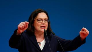 Αντρέα Νάλες: Η πρώτη γυναίκα ηγέτης του SPD είναι εκρηκτική και αθυρόστομη