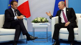 Επικοινωνία Πούτιν - Μακρόν για Συρία και Ιράν