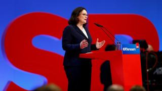 Αντρέα Νάλες: Η νέα πρόεδρος του SPD δεν «κέρδισε» τους Γερμανούς