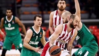 Euroleague: Ζαλγκίρις - Ολυμπιακός στη Λιθουανία για το break… στο break