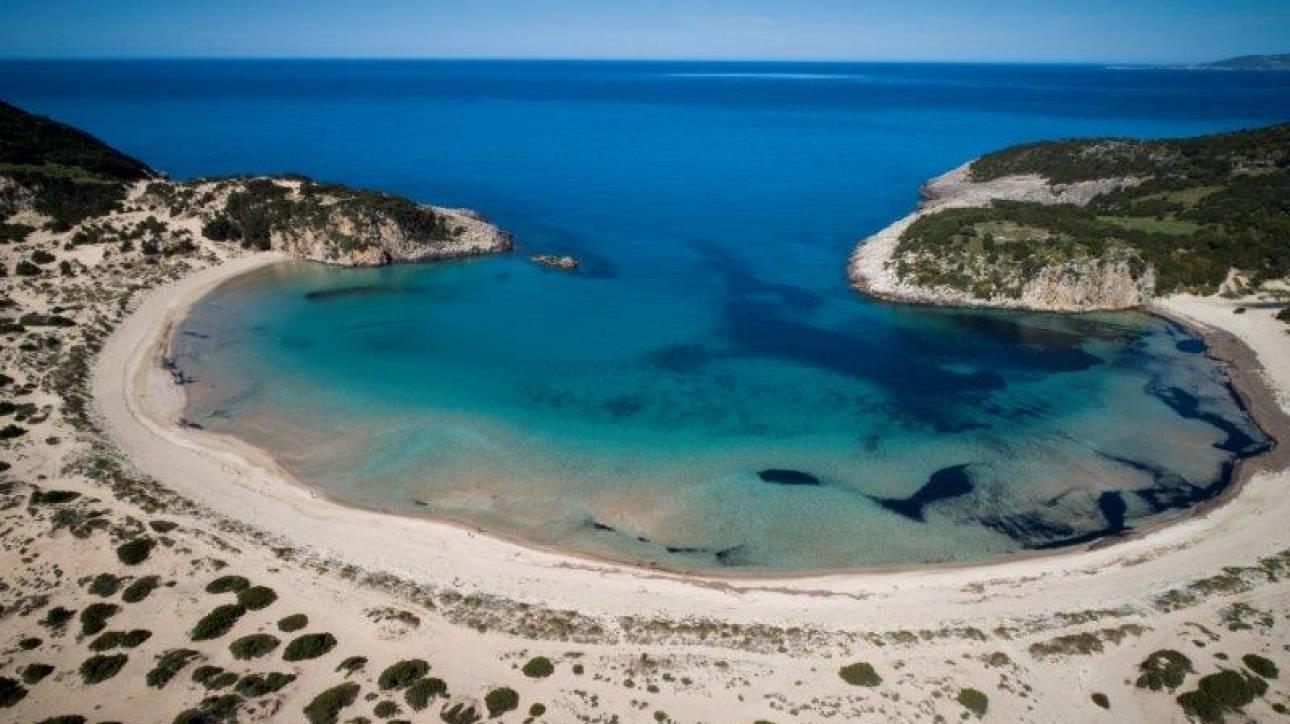 Βοϊδοκοιλιά, η πανέμορφη παραλία της Μεσσηνίας