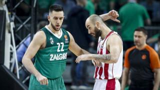 Euroleague: Ένα βήμα από τον αποκλεισμό ο Ολυμπιακός (vids)