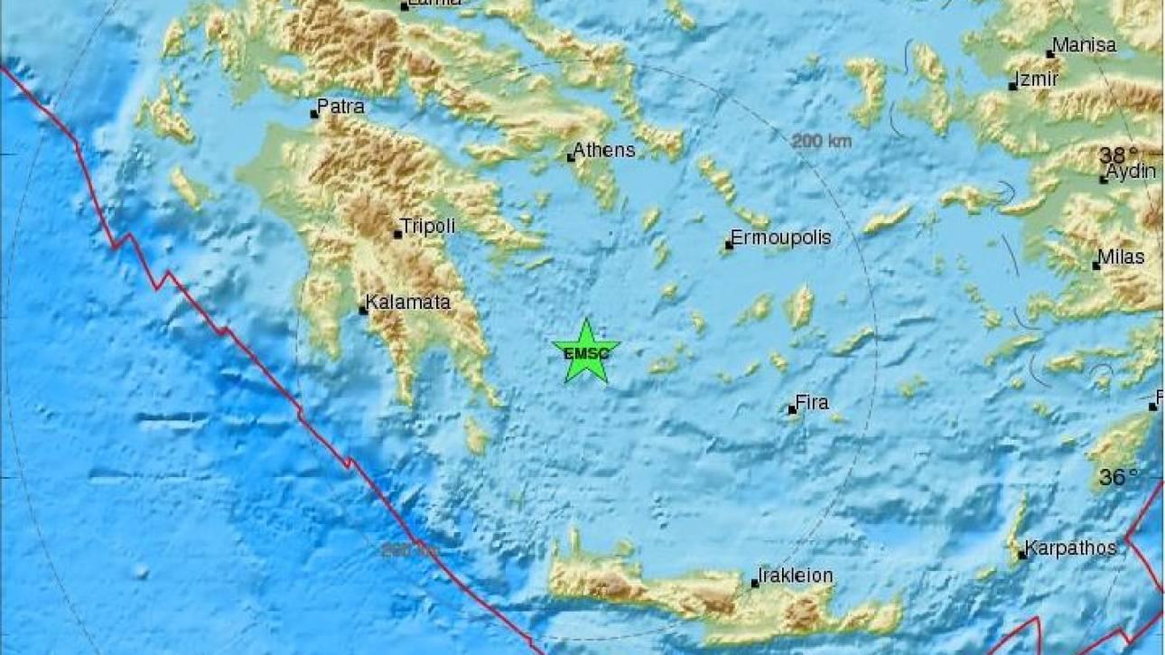 Σεισμός 4,1 Ρίχτερ στη Μήλο