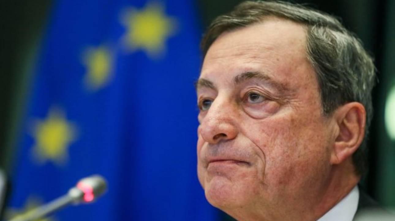 Κλειστά χαρτιά από Ντράγκι για το τέλος του QE