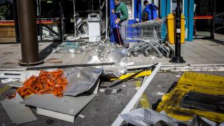 Ληστές ανατίναξαν ΑΤΜ στην Πεντέλη