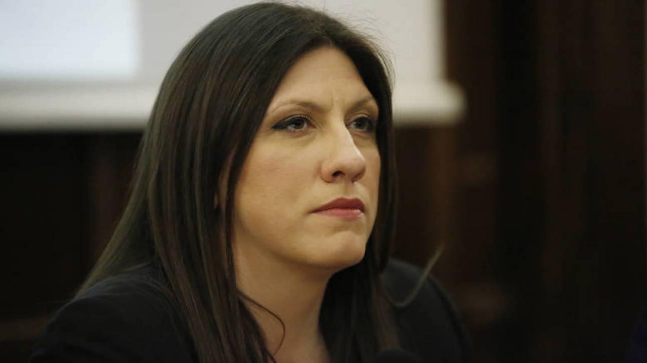 Κωνσταντοπούλου: Πράξη υποτέλειας η πρόσκληση στον Γιουνκέρ να μιλήσει στη Βουλή