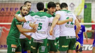 Volleyleague: Γλίτωσε τον υποβιβασμό ο Παναθηναϊκός