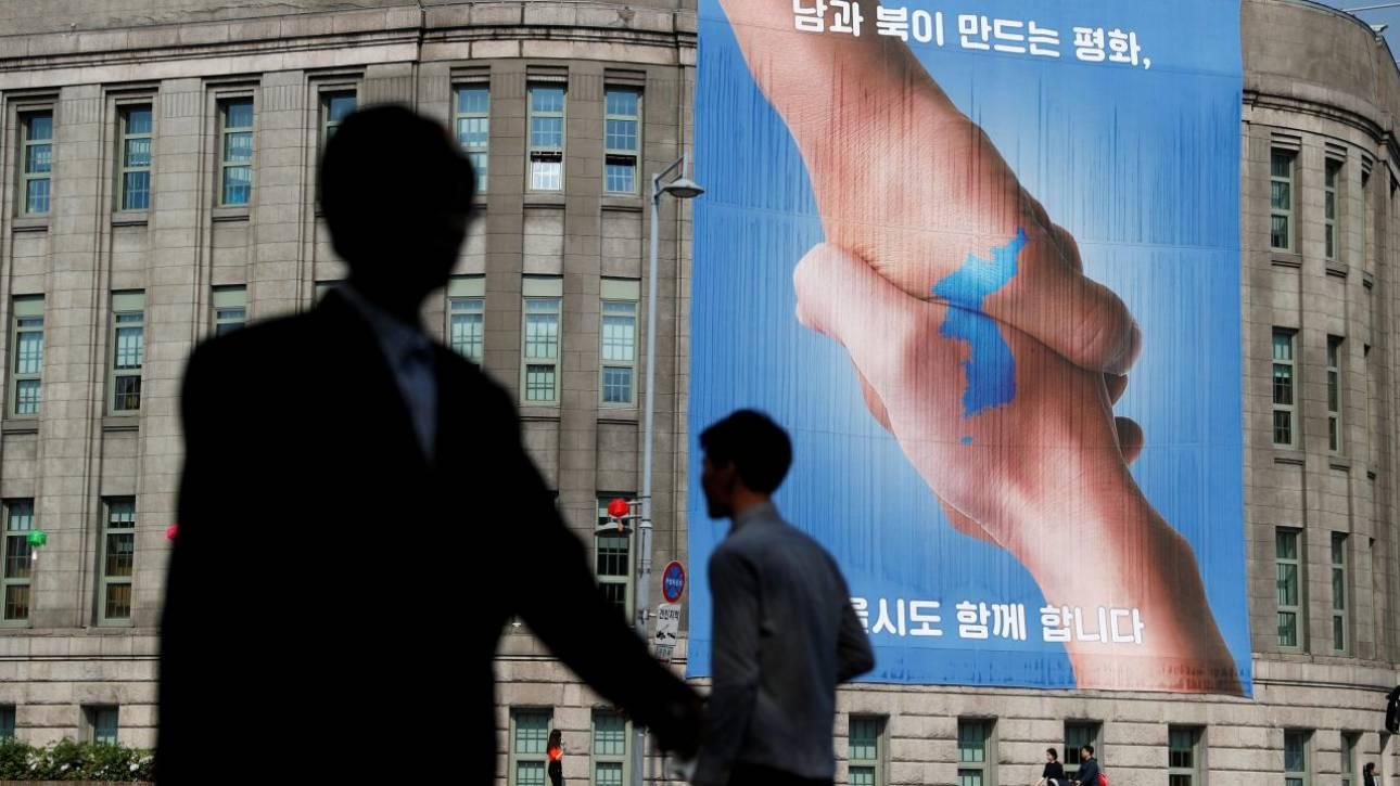 Στην αποστρατιωτικοποιημένη ζώνη μεταβαίνει ο Κιμ Γιονγκ Ουν και ο Μουν Τζε-ιν