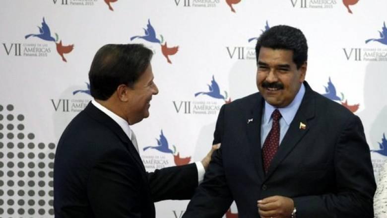 Βενεζουέλα και Παναμάς γυρίζουν τη σελίδα της διπλωματικής τους κρίσης