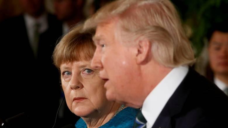 Ιράν και δασμοί τα «αγκάθια» στη συνάντηση Τραμπ-Μέρκελ