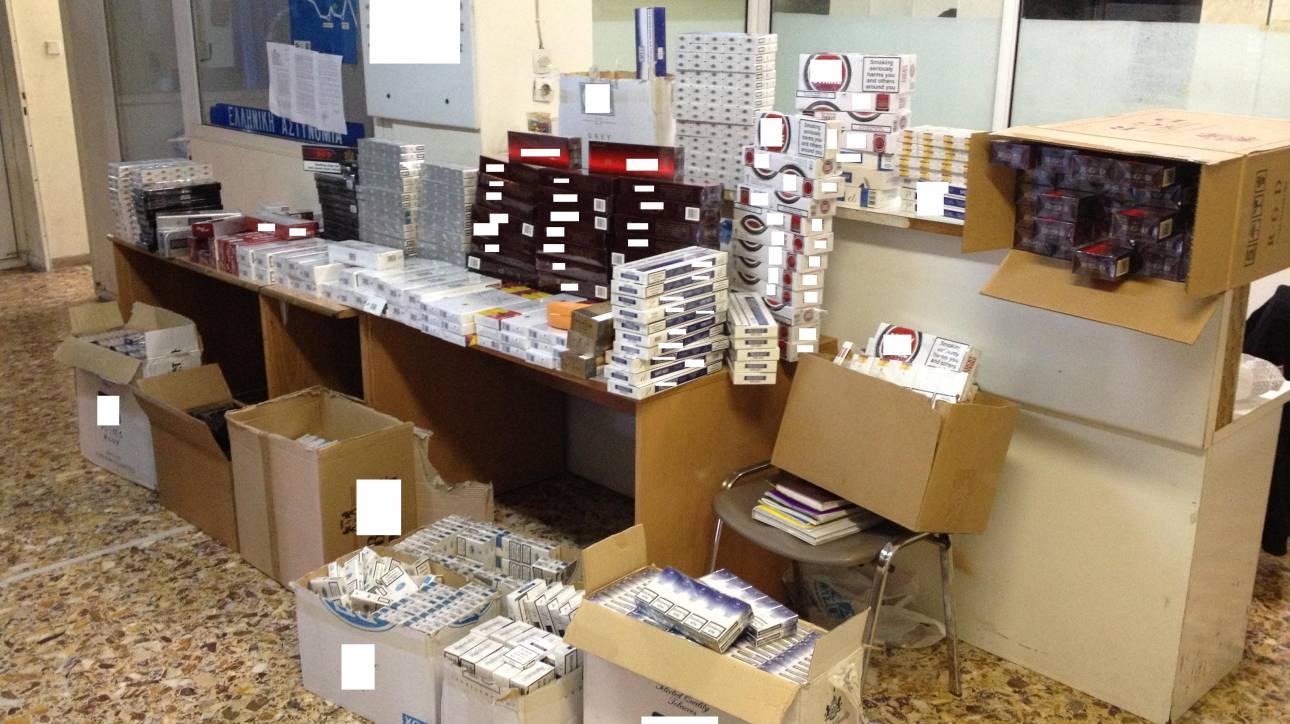 Κατάσχεση δύο εμπορευματοκιβωτίων με λαθραία τσιγάρα στον Πειραιά
