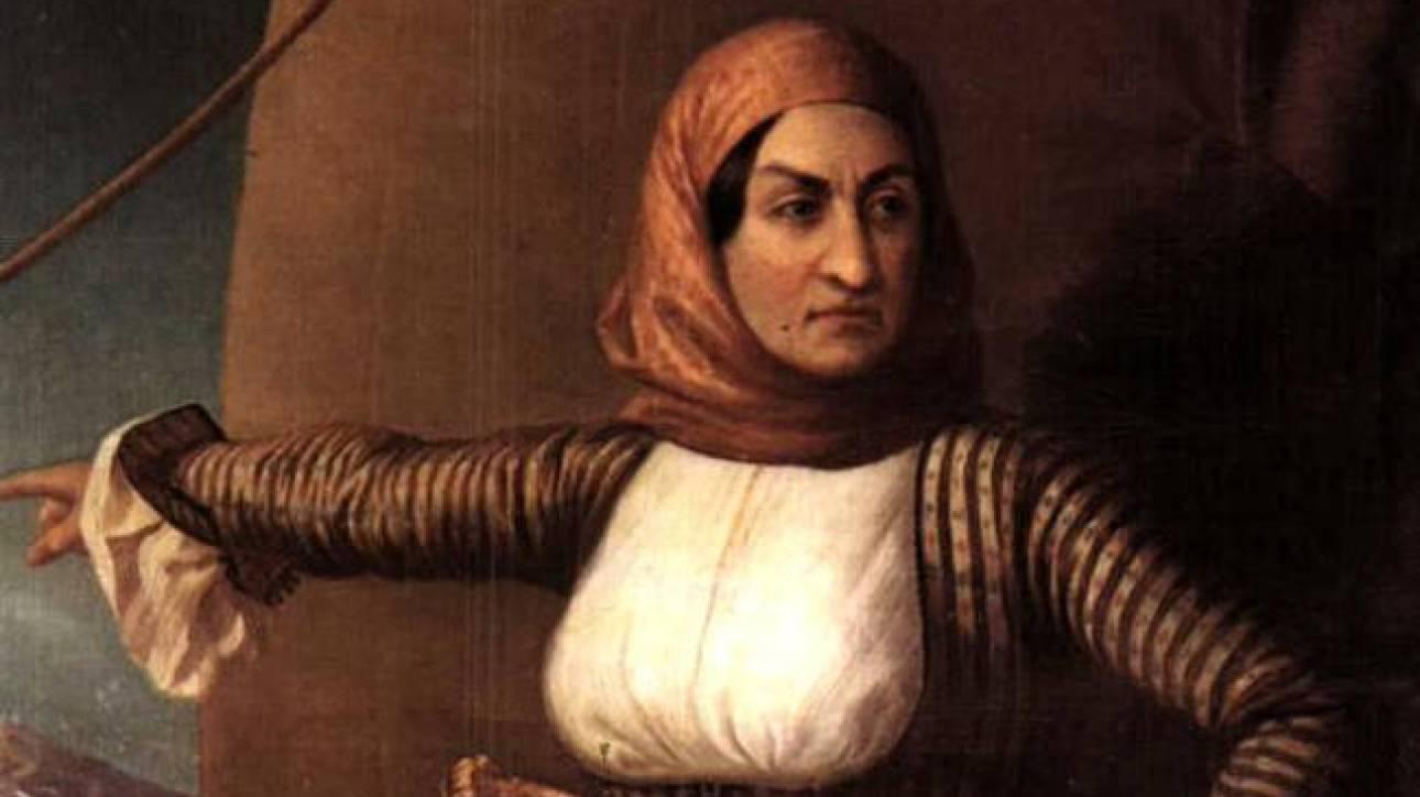 Υποναύαρχος επί τιμή η Μπουμπουλίνα 193 χρόνια μετά το θάνατό της
