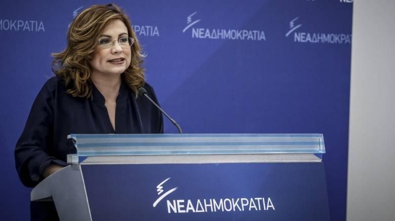 Σπυράκη: Ο κ. Τσίπρας φοβάται να πάει σε εκλογές