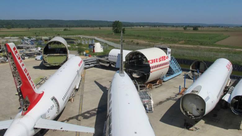 Τι γίνονται τα αεροσκάφη μετά τη «συνταξιοδότηση»;