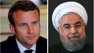 Ροχανί σε Μακρόν: Αδιαπραγμάτευτη η πυρηνική συμφωνία του Ιράν