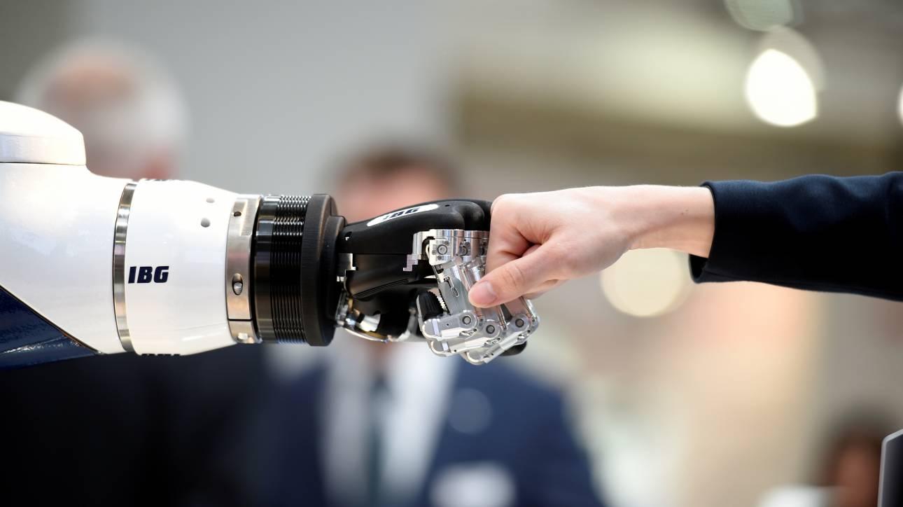 Τα γερμανικά συνδικάτα υπέρ των ρομπότ και της «τέταρτης βιομηχανικής επανάστασης»