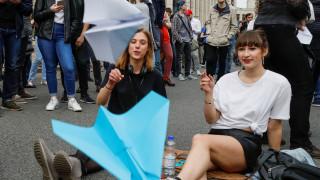 Στους δρόμους οι Ρώσοι μετά το «μπλόκο» στην εφαρμογή Telegram