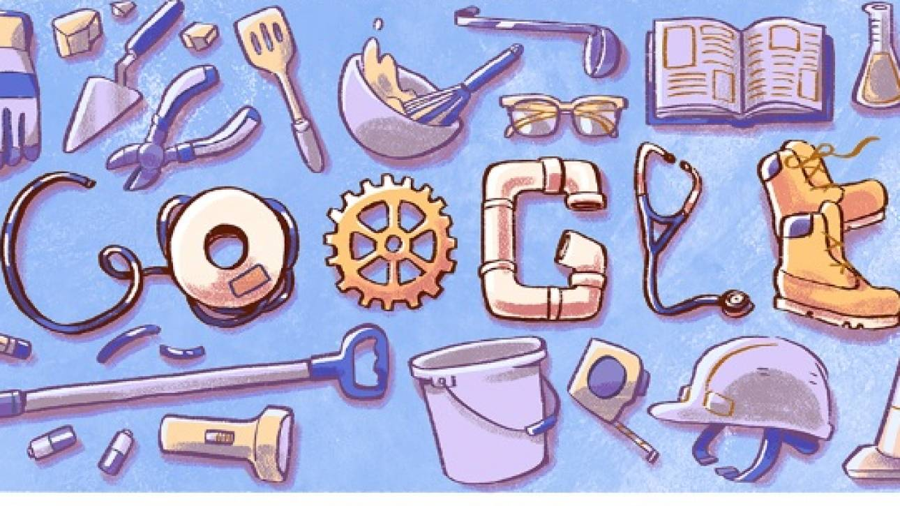 Πρωτομαγιά 2018: Αφιερωμένο στην Ημέρα Εργασίας το Doodle της Google
