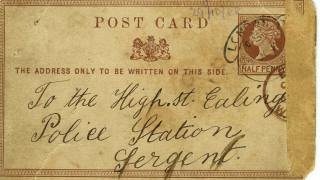 Πωλήθηκε σε δημοπρασία κάρτ ποστάλ με την «υπογραφή» του Τζακ του Αντεροβγάλτη