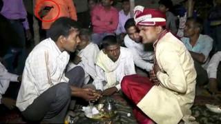 Ινδία: Γαμπρός σκοτώθηκε από μπαλωθιά στον γάμο του