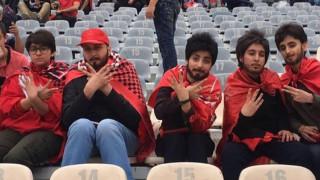«Ατρόμητες» Ιρανές, αψήφησαν την απαγόρευση και πήγαν στο γήπεδο