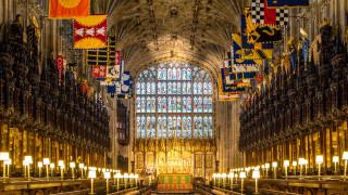 Ξενάγηση στο Παρεκκλήσι του Αγίου Γεωργίου όπου Χάρι και Μέγκαν θα ανταλλάξουν όρκους αιώνιας πίστης